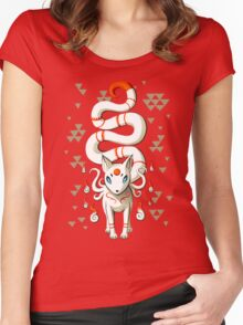 Long Tail Fox Women's Fitted Scoop T-Shirt