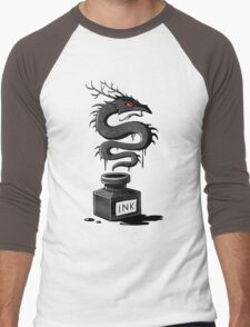 Ink Dragon Men's Baseball ¾ T-Shirt