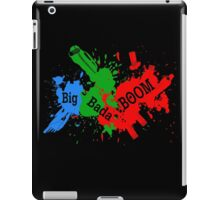 big bada BOOM ! iPad Case/Skin