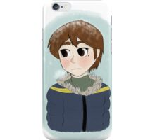 Peter Parker in a Parka iPhone Case/Skin