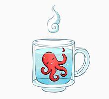 Octopus Tea Womens Fitted T-Shirt