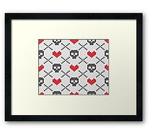Love & Death of Argyle Framed Print