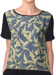 Birds of the Netherlands - 1928 Chiffon Top