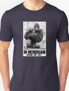in memoriam harambe Unisex T-Shirt
