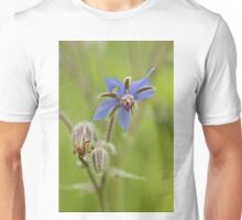 Borage Wildflower - Borage officinalis - Annual Herb Unisex T-Shirt