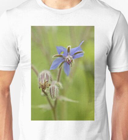 Borage Wildflower - Borage officinalis - Annual Herb Unisex T-Shirt