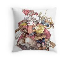 Quina & Friends Throw Pillow