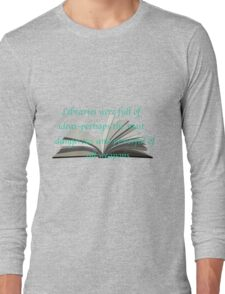 LIBRARIES: THRONE OF GLASS Long Sleeve T-Shirt