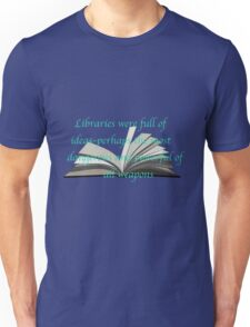 LIBRARIES: THRONE OF GLASS Unisex T-Shirt