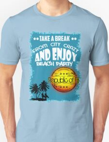 Republic Of Fiji Beach Day Unisex T-Shirt
