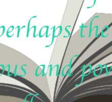 LIBRARIES: THRONE OF GLASS Sticker