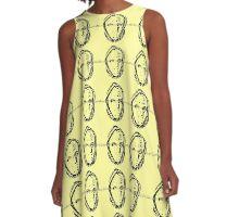 TESLA BARMEN OLD SKOOL LOGO A-Line Dress