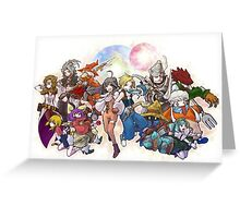 Heroes Fantasy Greeting Card