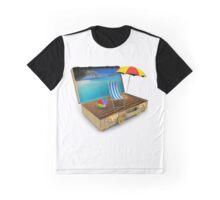 Beach Suitcase  Graphic T-Shirt