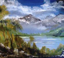 Misty Mountian by tusitalo