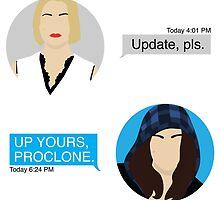 ProPunk Texts - Orphan Black by iTheressa