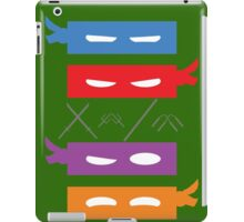 Teenage Mutant Ninja Turtles Mask's iPad Case/Skin