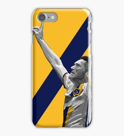 Ribbie Keane - LA Galaxy iPhone Case/Skin