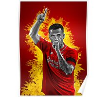Philippe Coutinho - Liverpool Poster