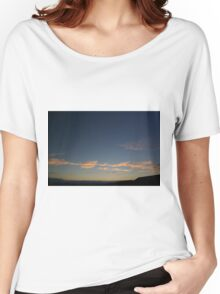 RED CLOUD AT DUSK Women's Relaxed Fit T-Shirt