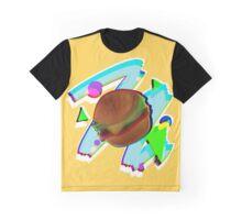 Retro Burg Graphic T-Shirt