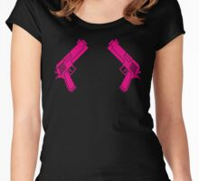 Big Guns Women's Fitted Scoop T-Shirt