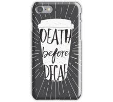 Caffeinated Feelings iPhone Case/Skin