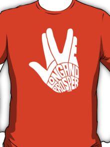 Live Long and Prosper White T-Shirt