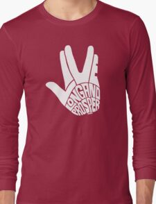 Live Long and Prosper White Long Sleeve T-Shirt