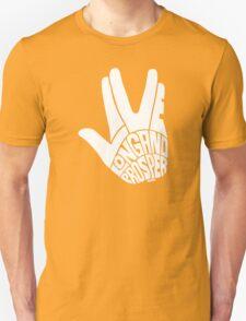 Live Long and Prosper White Unisex T-Shirt