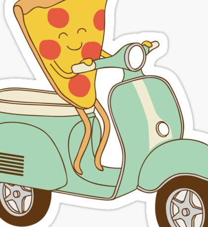 pizza delivery Sticker