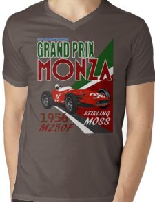 S.M. 1956 M250F[Monza] Mens V-Neck T-Shirt