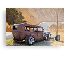 Dodge Rat Sedan 'On the Road Again' Metal Print