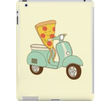 pizza delivery iPad Case/Skin