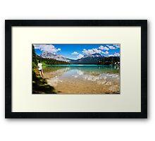 Emerald Lake Yoho National Park Canada Framed Print