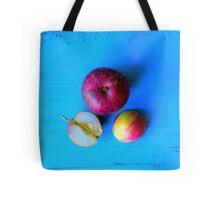 Apple and Half .  Tote Bag