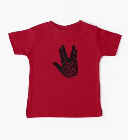 Live Long and Prosper Baby Tee