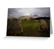 Castlerigg, Nr Keswick, Cumbria. English Lake District. Greeting Card