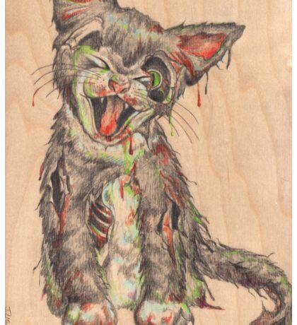 Cat Scratch Fever Sticker