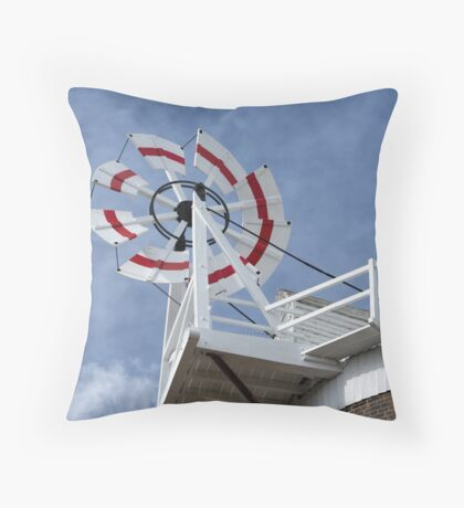 Cley Windmill Fantail Throw Pillow