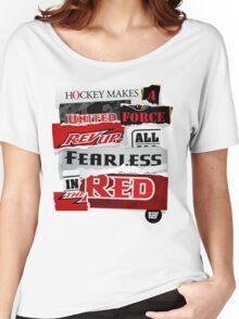 BBG011 — Slogan Women's Relaxed Fit T-Shirt