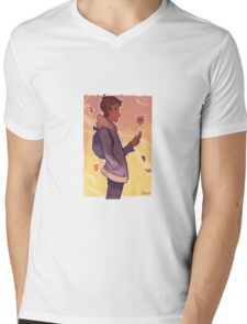 Autumn Lance Mens V-Neck T-Shirt