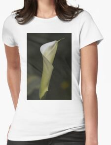 lily blooming in the garden Womens Fitted T-Shirt