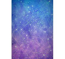 Map of the Stars Photographic Print