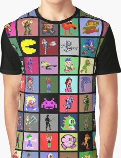 Pixel Heroes Graphic T-Shirt
