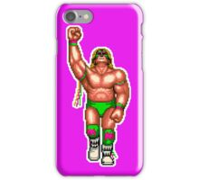 WRESTLEFEST WARRIOR (PINK) iPhone Case/Skin