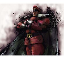 M. Bison Master Photographic Print