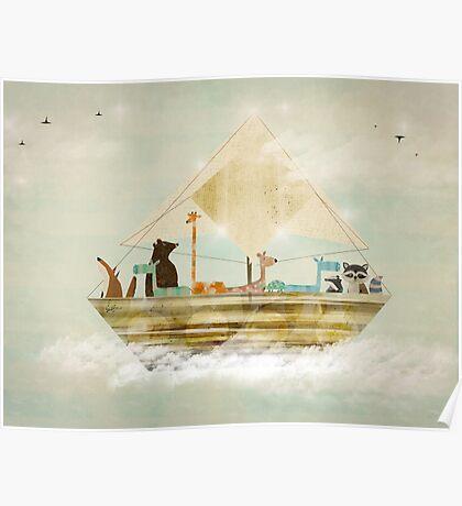 sky sailers Poster