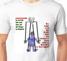 Zeit hier ein auf die Finger zu Klopfen! Unisex T-Shirt