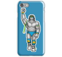 WRESTLEFEST WARRIOR B&W iPhone Case/Skin